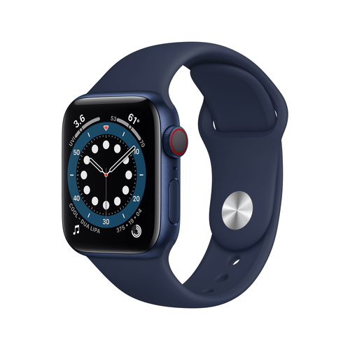Apple Watch Series 6 40 mm OLED 4G Blau GPS