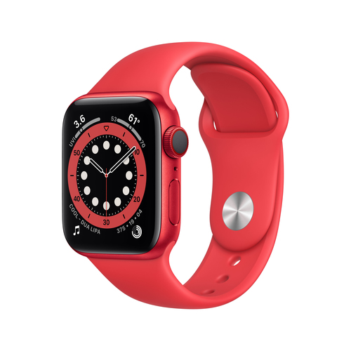 Apple Watch Series 6 40 mm OLED 4G Rot GPS