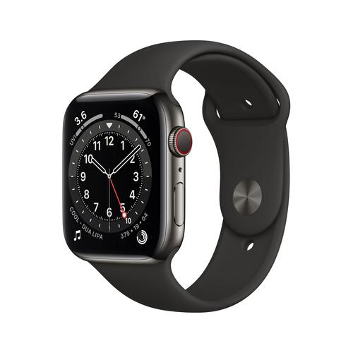 Apple Watch Series 6 44 mm OLED 4G Graphit GPS