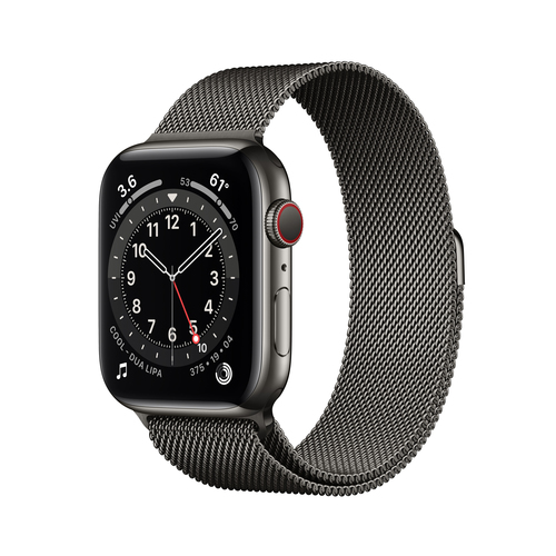 Apple Watch Series 6 44 mm OLED 4G Graphit GPS