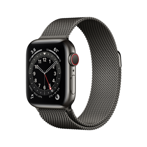 Apple Watch Series 6 40 mm OLED 4G Graphit GPS