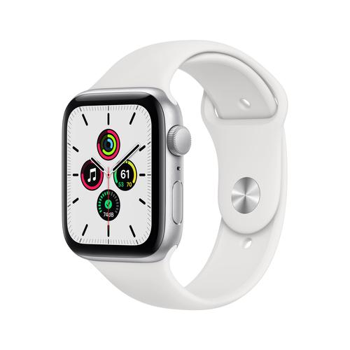 Apple Watch SE 44 mm OLED Silber GPS