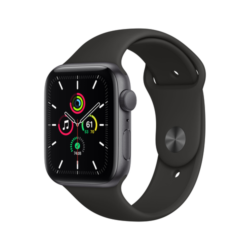Apple Watch SE 44 mm OLED Grau GPS