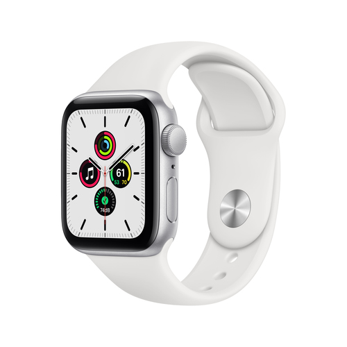 Apple Watch SE 40 mm OLED Silber GPS