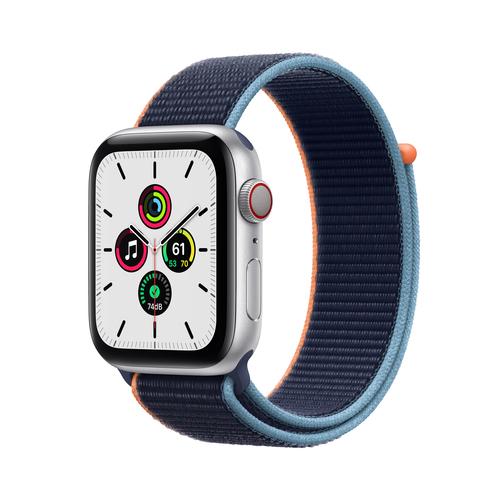 Apple Watch SE 44 mm OLED 4G Silber GPS