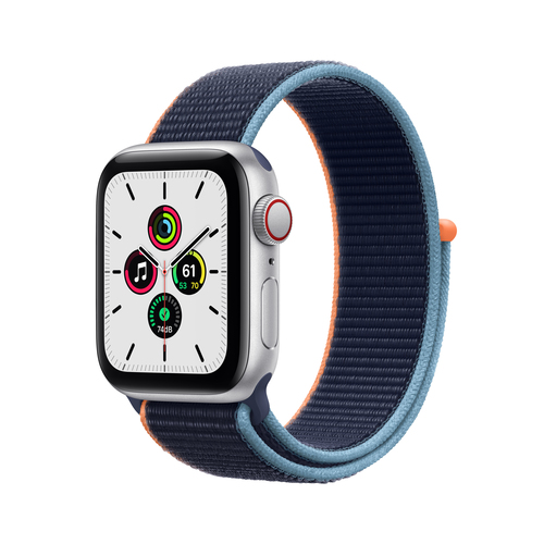 Apple Watch SE 40 mm OLED 4G Silber GPS