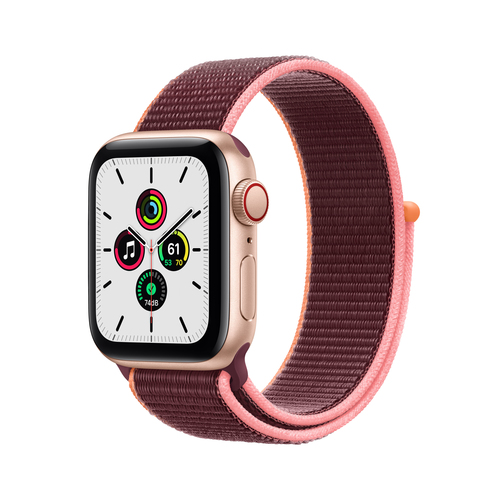 Apple Watch SE 40 mm OLED 4G Gold GPS