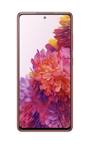 Samsung Galaxy S20 FE 5G SM-G781B 16,5 cm (6.5 Zoll) Android 10.0 USB Typ-C 6 GB 128 GB 4500 mAh Rot (Rot)
