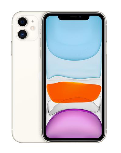 Apple iPhone 11 15,5 cm (6.1 Zoll) Dual-SIM iOS 14 4G 64 GB Weiß (Weiß)