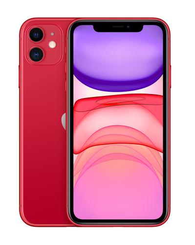 Apple iPhone 11 15,5 cm (6.1 Zoll) Dual-SIM iOS 14 4G 128 GB Rot (Rot)