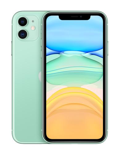 Apple iPhone 11 15,5 cm (6.1 Zoll) Dual-SIM iOS 14 4G 256 GB Grün (Grün)
