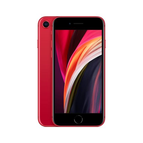 Apple iPhone SE 11,9 cm (4.7 Zoll) Hybride Dual-SIM iOS 14 4G 128 GB Rot (Rot)