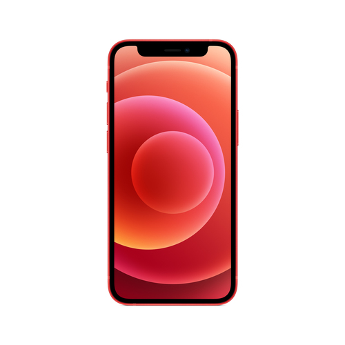 Apple iPhone 12 mini 13,7 cm (5.4 Zoll) Dual-SIM iOS 14 5G 256 GB Rot (Rot)
