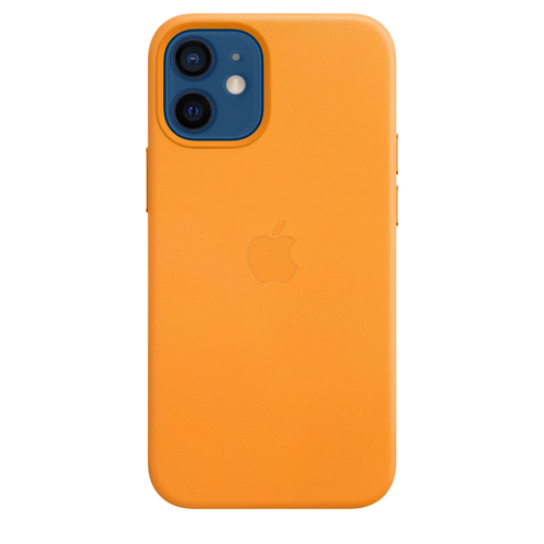 Apple MHK63ZM/A Handy-Schutzhülle 13,7 cm (5.4 Zoll) Cover Orange (Orange)
