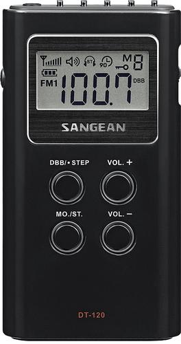 Sangean DT-120 (Schwarz)