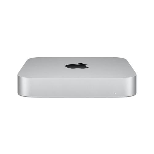 Apple Mac mini M1 Apple M 8 GB DDR4-SDRAM 512 GB SSD macOS Big Sur Mini-PC Silber (Silber)