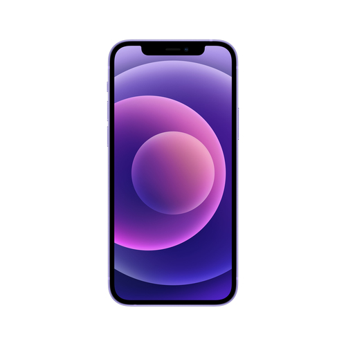Apple iPhone 12 mini 13,7 cm (5.4 Zoll) Dual-SIM iOS 14 5G 256 GB Violett (Violett)