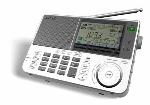Sangean ATS-909X Tragbar Digital Grau Radio (Grau)