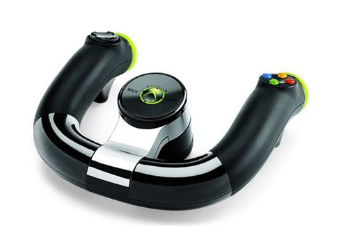 Microsoft Wireless Speed Wheel (Schwarz)