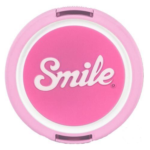 Smile Kawai Digitalkamera 52mm Weiß Objektivdeckel (Pink, Weiß)
