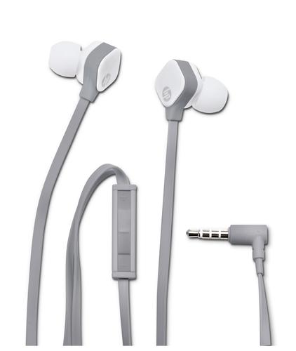 HP H2310 Binaural im Ohr Grau, Weiß (Grau, Weiß)