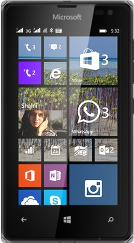 Microsoft Lumia 532 Dual Sim 8GB Black (Schwarz)