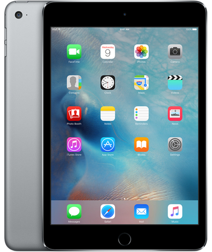 Apple iPad mini 4 128GB 3G 4G Grau Tablet (Grau)