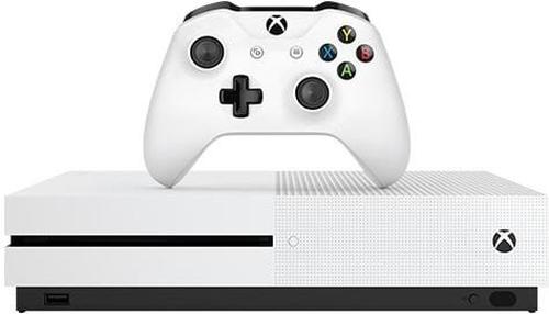 Microsoft Xbox One S 1000GB WLAN Weiß (Weiß)