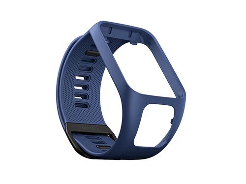 TomTom Runner 3-/Spark 3-Wechselarmband (Dunkelblau – Breit) (Blau)