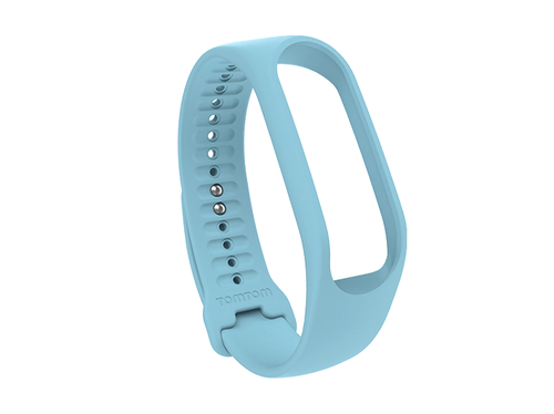 TomTom Touch Fitness-Tracker-Armband (Himmelblau – Größe L) (Blau)