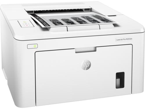 HP LaserJet M203dn 1200 x 1200DPI A4 Weiß (Weiß)