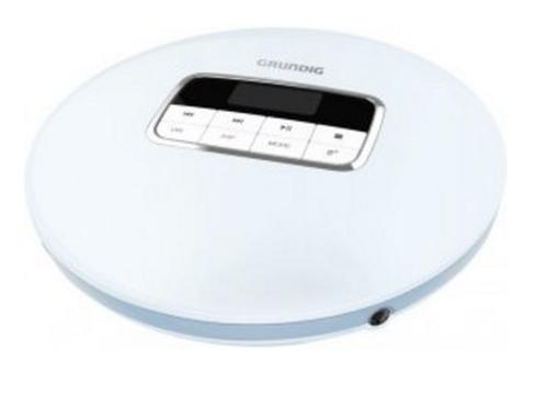 Grundig CDP 6600 Portable CD player Blau, Silber (Blau, Silber)