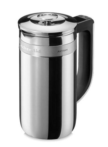 KitchenAid 5KCM0512ESS Freistehend Manuell Elektrische französisch Presse 0.75l Edelstahl Kaffeemaschine (Edelstahl)