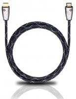 OEHLBACH 2.5m HDMI (Schwarz, Silber)