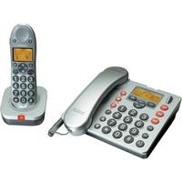 Audioline BIGTEL 480 Combo (Silber)