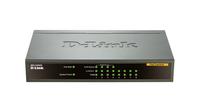 D-Link DES-1008PA Netzwerk Switch (Schwarz)