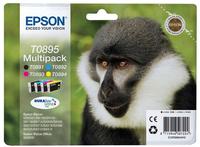 Epson Multipack 4 Farben T0895, DURABrite Ultra Ink