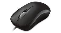 Microsoft Basic Optical Mouse for Business (Schwarz)