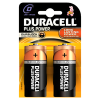Duracell Plus Power (Schwarz, Orange)