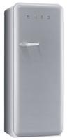 Smeg FAB28RX1 Kombi-Kühlschrank (Metallisch, Silber)