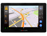 A-Rival NAV-XEA 43 WE GPS-Navigationssystem (Schwarz)