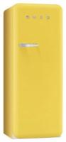 Smeg FAB28RG1 Kombi-Kühlschrank (Gelb)