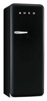 Smeg FAB28RNE1 Kombi-Kühlschrank (Schwarz)