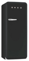 Smeg FAB28RBV3 Kombi-Kühlschrank (Schwarz)
