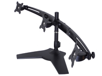 Multibrackets M VESA Desktopmount Triple Arm (Schwarz)
