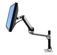 Ergotron LX Series Desk Mount LCD Arm, Tall Pole