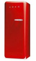 Smeg FAB28LR1 Kombi-Kühlschrank (Rot)