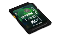 Kingston Technology 16GB SDHC UHS-I Card (Schwarz)