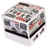 LogiLink UA0117 Hub (Weiß)