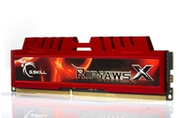 G.Skill 8GB DDR3-1600 CL10 RipjawsX